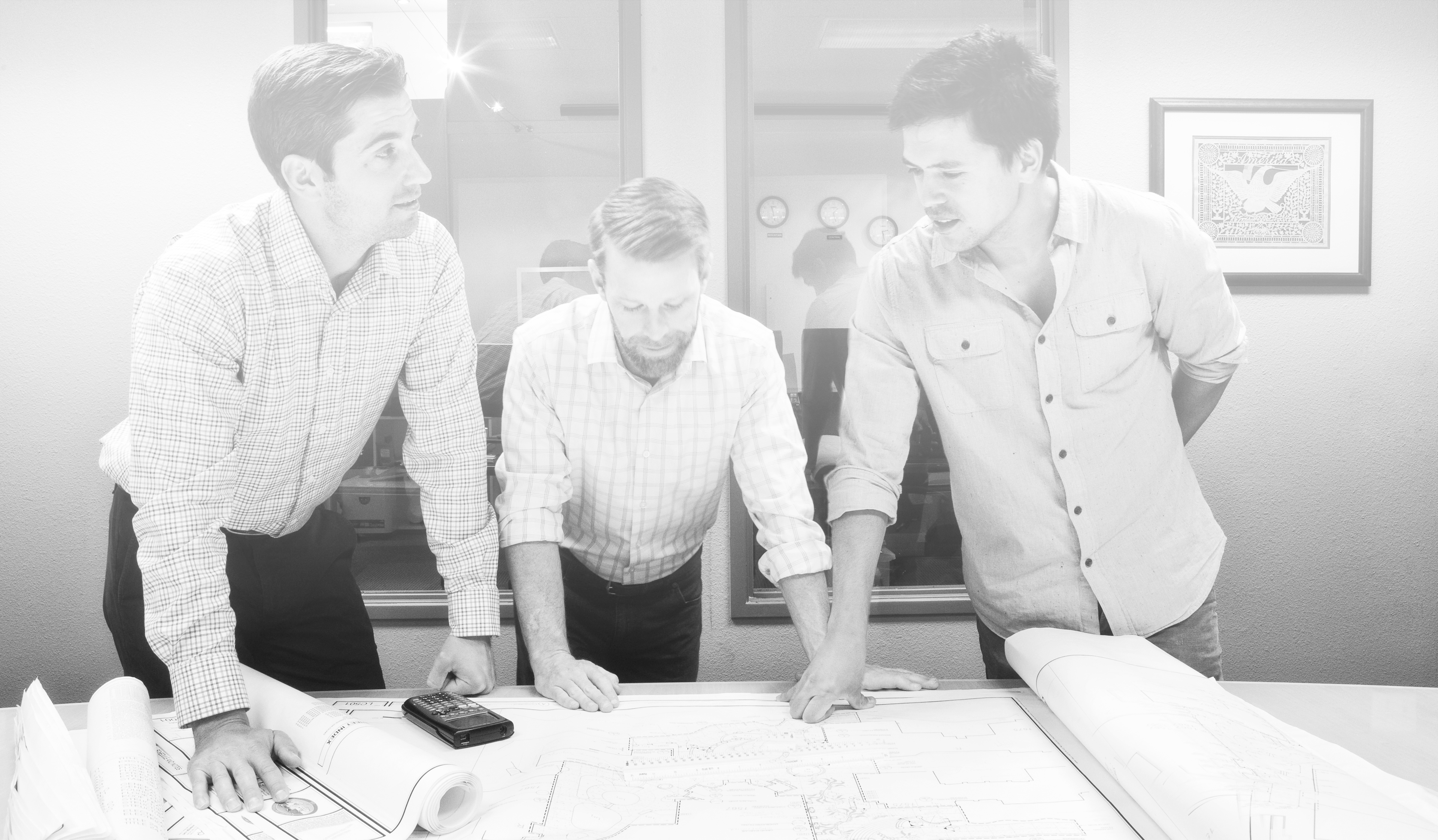 Three Cost Consultants that started Precision Estimating Services